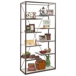 Philip Reinisch Folio Point Loma Industrial Bookcase