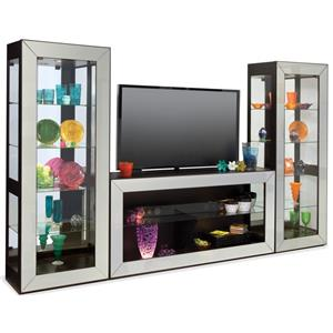Polaris Bunching Entertainment Wall Unit