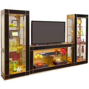 Altair II Bunching Entertainment Wall Unit