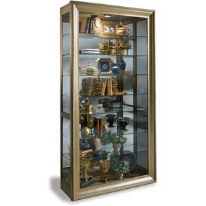 Vermeer Sliding Door Curio Cabinet