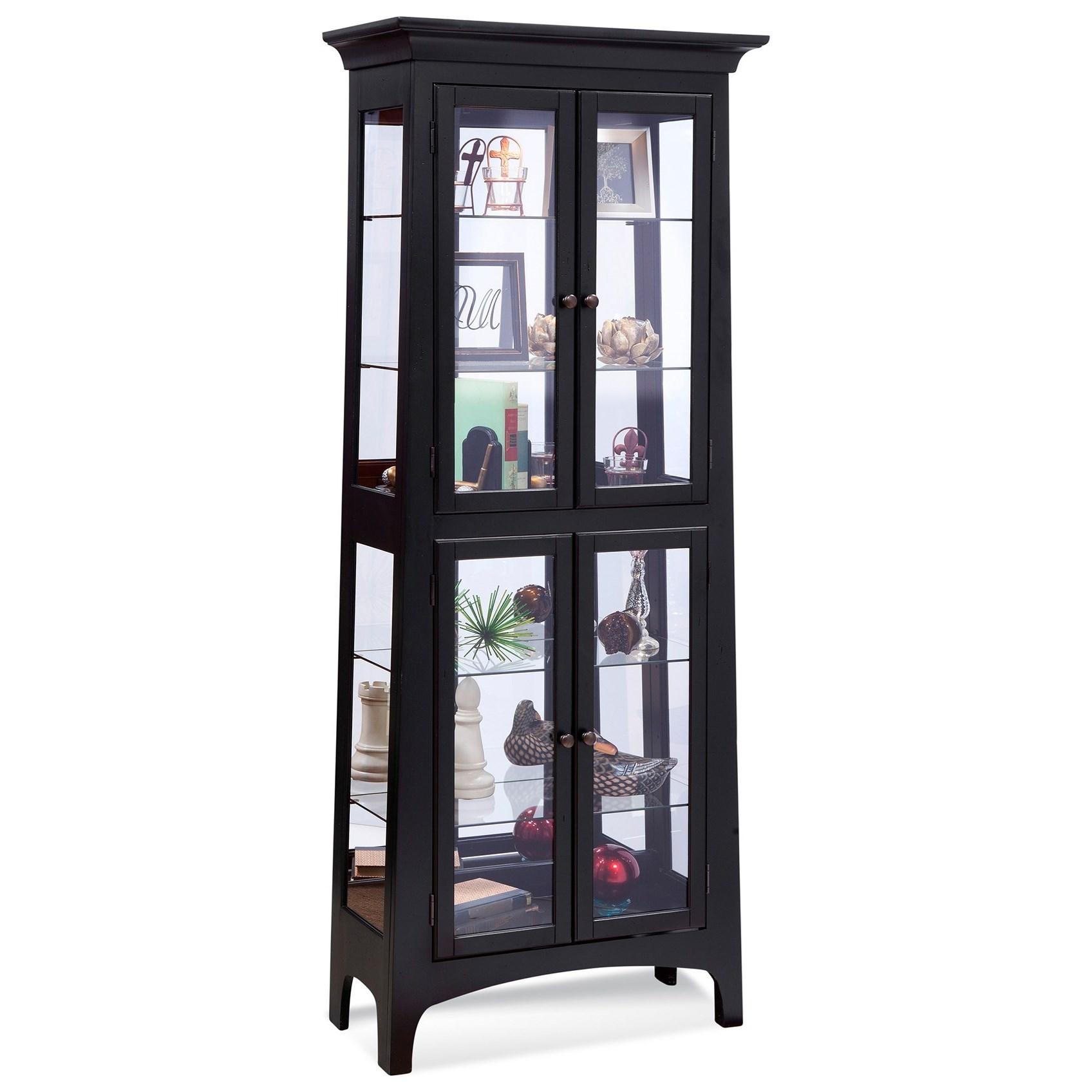 Philip Reinisch Power Cabinets Lancaster I Curio Cabinet - Item Number: 12557