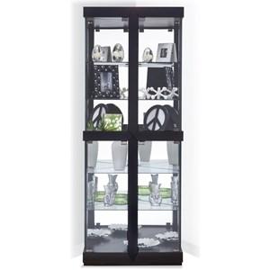 Philip Reinisch Power Cabinets Rohe II Corner Curio Cabinet