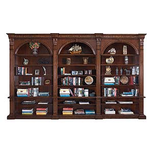 Philippe Langdon St. James Three Section Bookcase