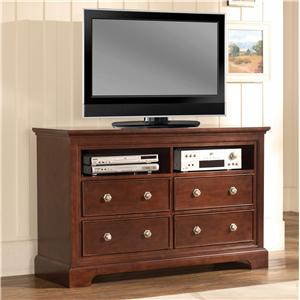 Pinewood International Park Place  Elegant Media Chest