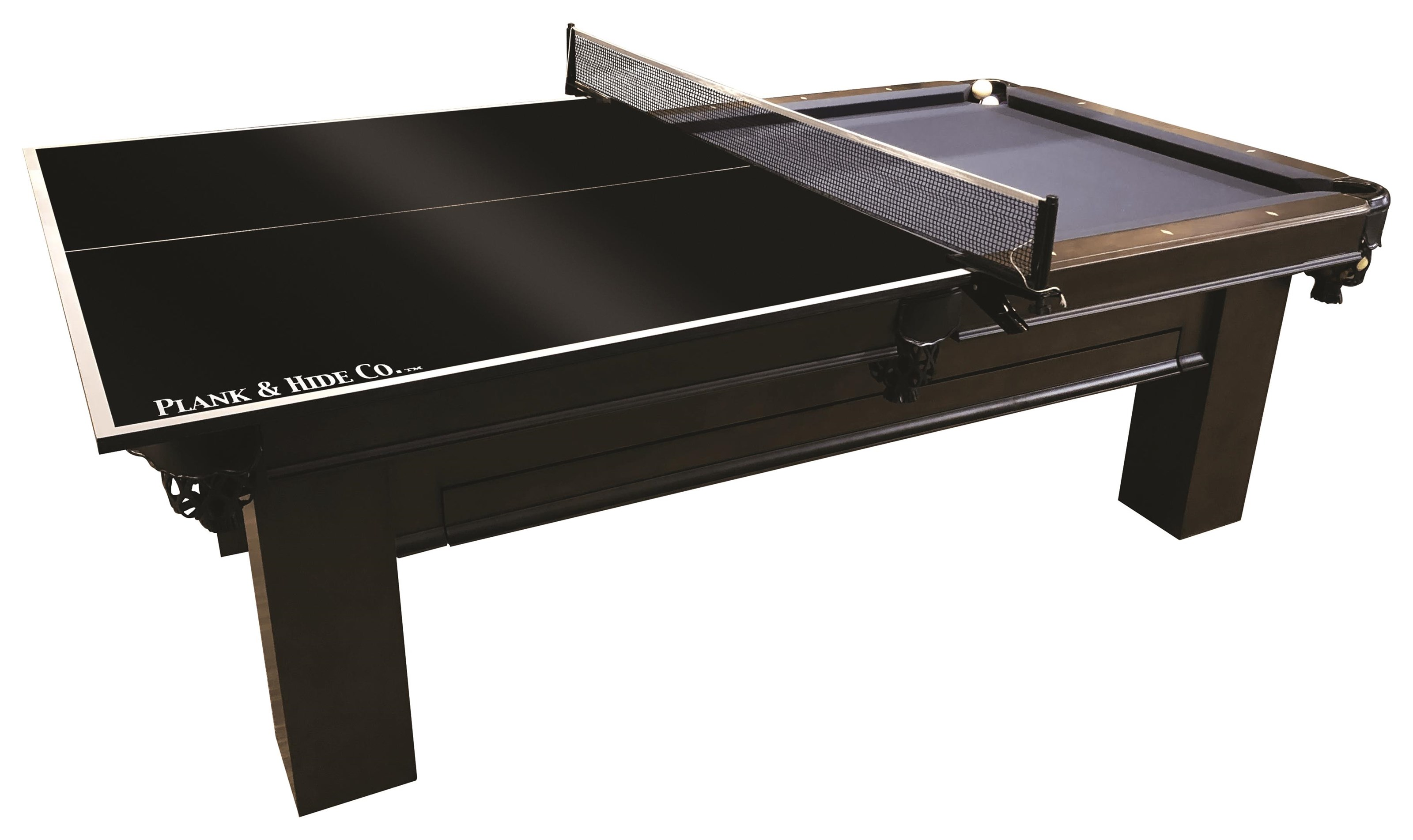 Indoor Entertaining Ping Pong Conversion Kit by Plank & Hide at Johnny Janosik
