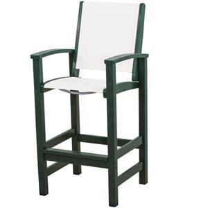 Polywood Coastal Collection Bar Chair