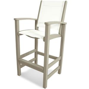 Polywood Coastal Collection Bar Chair