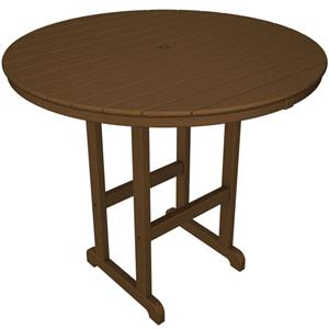 Polywood La Casa Cafe Round Bar Table