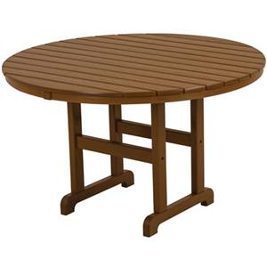 Polywood La Casa Cafe Round Dining Table