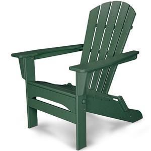 Polywood Palm Coast Folding Adirondack Chair