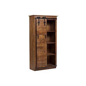 Porter International Designs Porter Barn Door Book Case