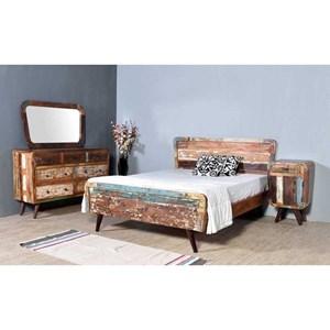 Porter International Designs Route 66 Queen Bedroom Group