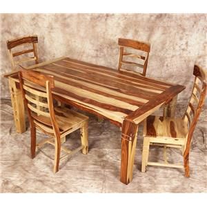 Porter International Designs Tahoe 5 Piece Table and Chair Set