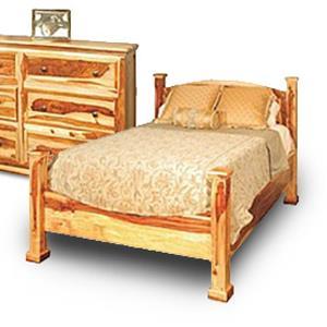 Porter International Designs Tahoe Queen Poster Bed