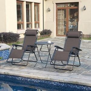 Poundex 123 Outdoor Lounge Set