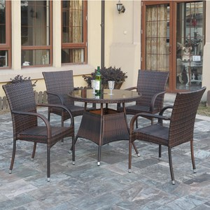 Poundex 191 Dining Set