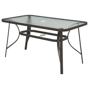 Rectangular Outdoor Table