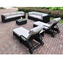 Poundex 429 Outdoor Lounge Set - Item Number: P50276+83+2xP50163+4x66+2x67