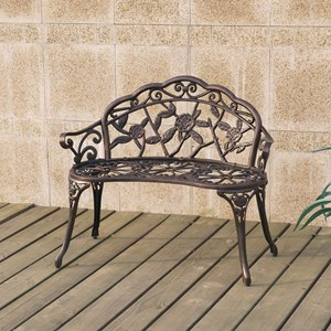 Poundex Outdoor Outdoor Bench