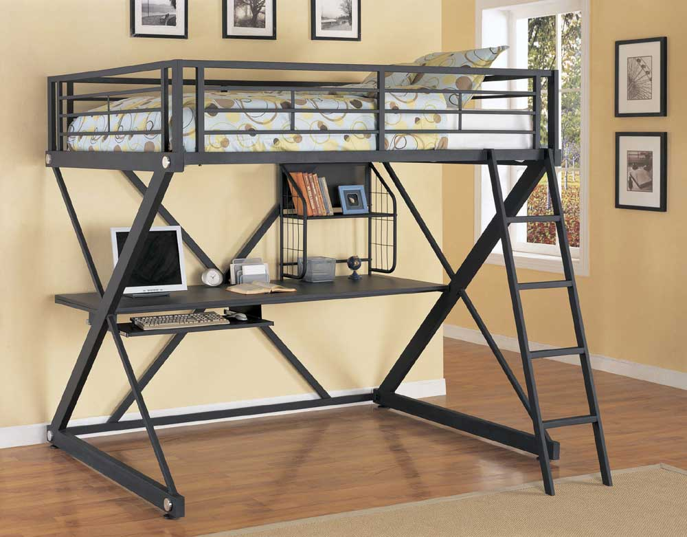Z Bedroom Full Loft Bed