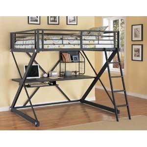 Powell Z Bedroom Full Loft Bed