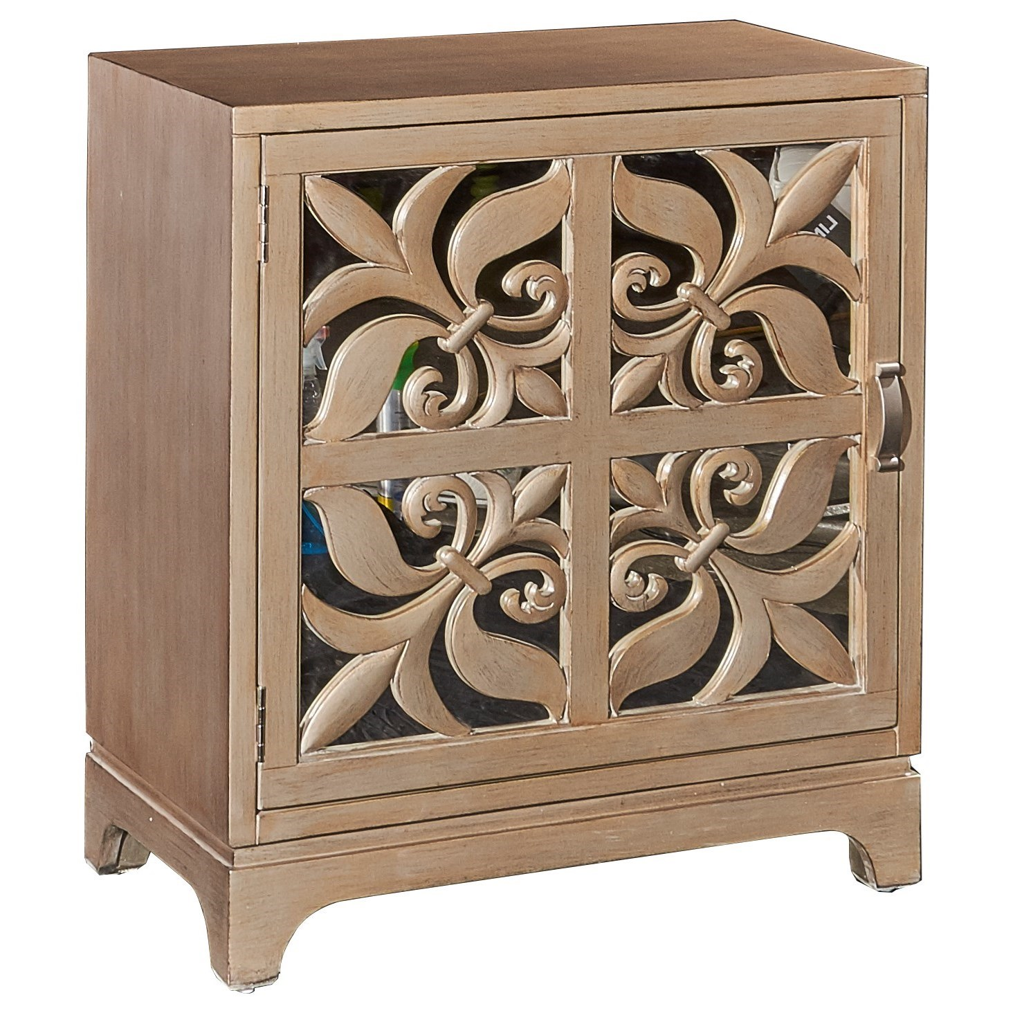Powell Accent Cabinets Juliette Cabinet - Item Number: 16A8274SM
