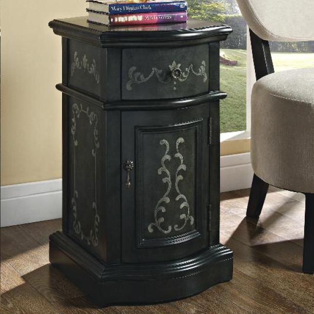 Powell Accent Cabinets Chairside Storage - Item Number: 528-222