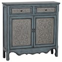 Powell Accent Furniture Antique Blue & White Console - Item Number: 14A2048