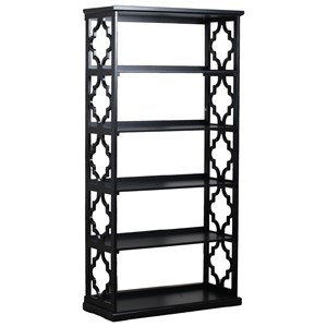Powell Accent Furniture Turner Bookcase Black