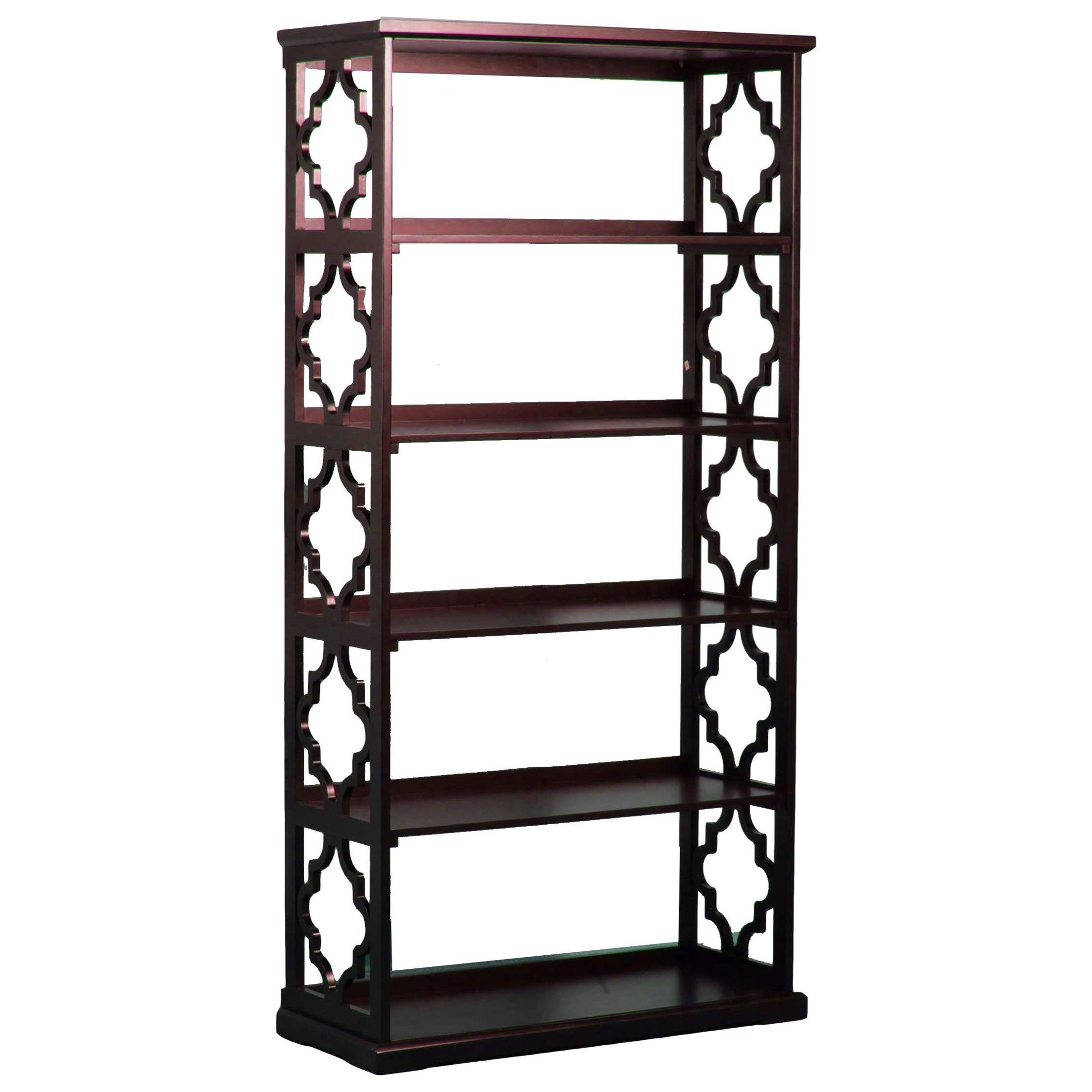 Powell Accent Furniture Turner Bookcase Espresso - Item Number: 14A8082BCE