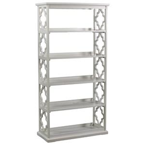 Powell Accent Furniture Turner Bookcase White