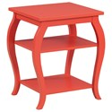 Powell Accent Furniture Panorama Orange Table - Item Number: 14A8091