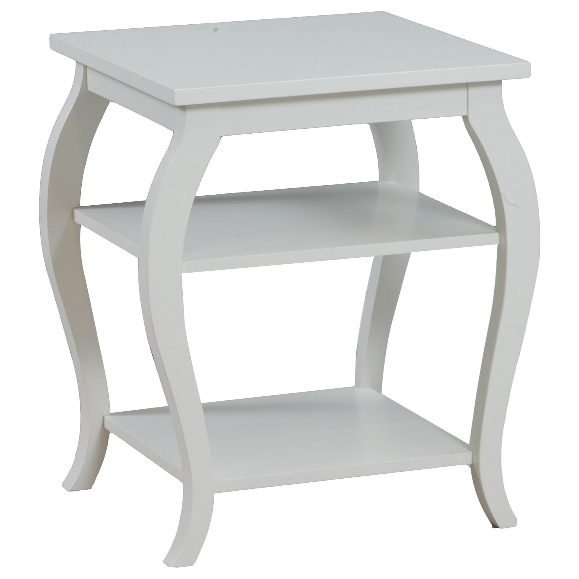Panorama White Table