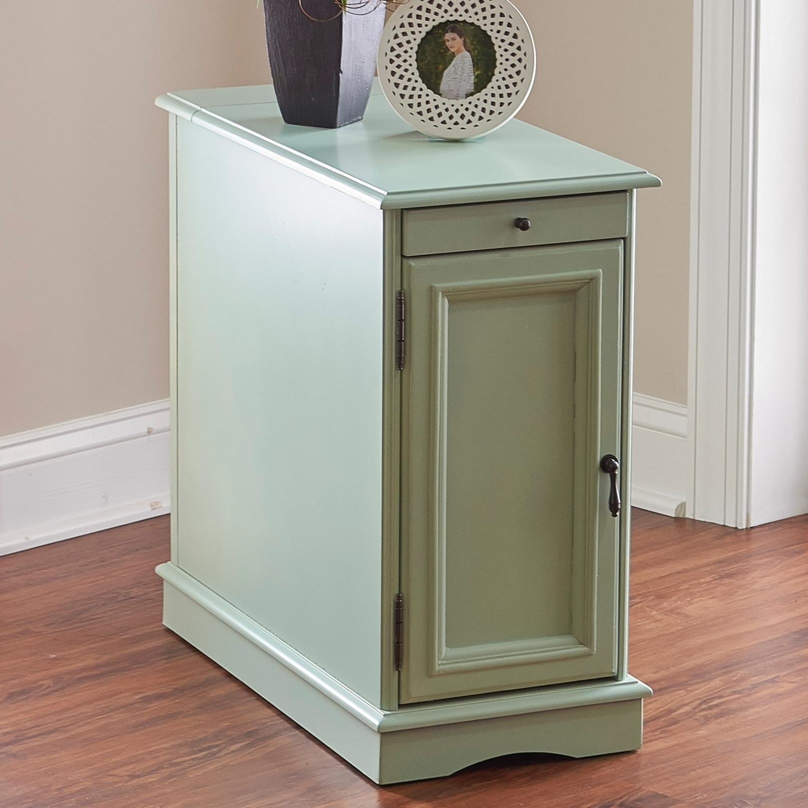 Powell Accent Furniture  Butler Aqua Accent Table  - Item Number: 15A2017AA