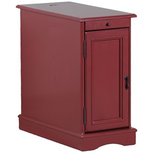 Butler Red Accent Table