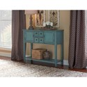 Powell Accent Furniture  Duplin Blue Console