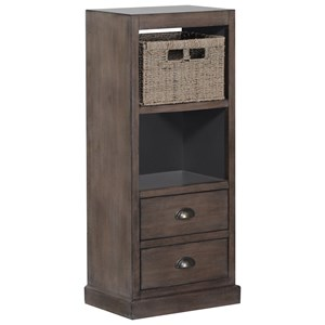 Powell Accent Furniture Currituck 2 Drawer 1 Basket Chest