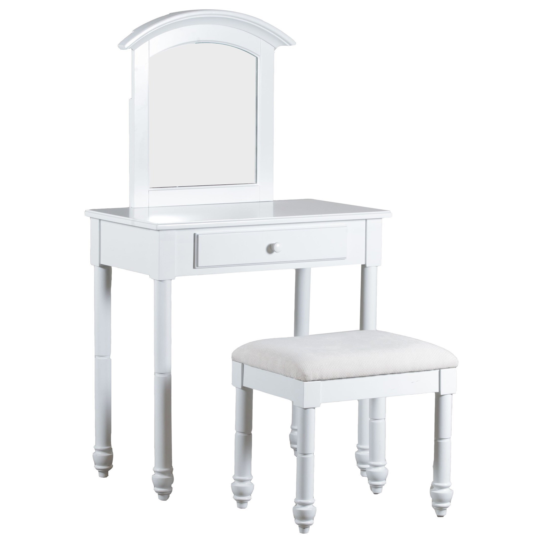 Accent Furniture Vanity with Stool by Powell at Nassau Furniture and Mattress