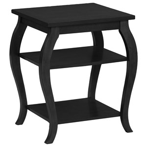 Powell Accent Furniture Panorama Black Table