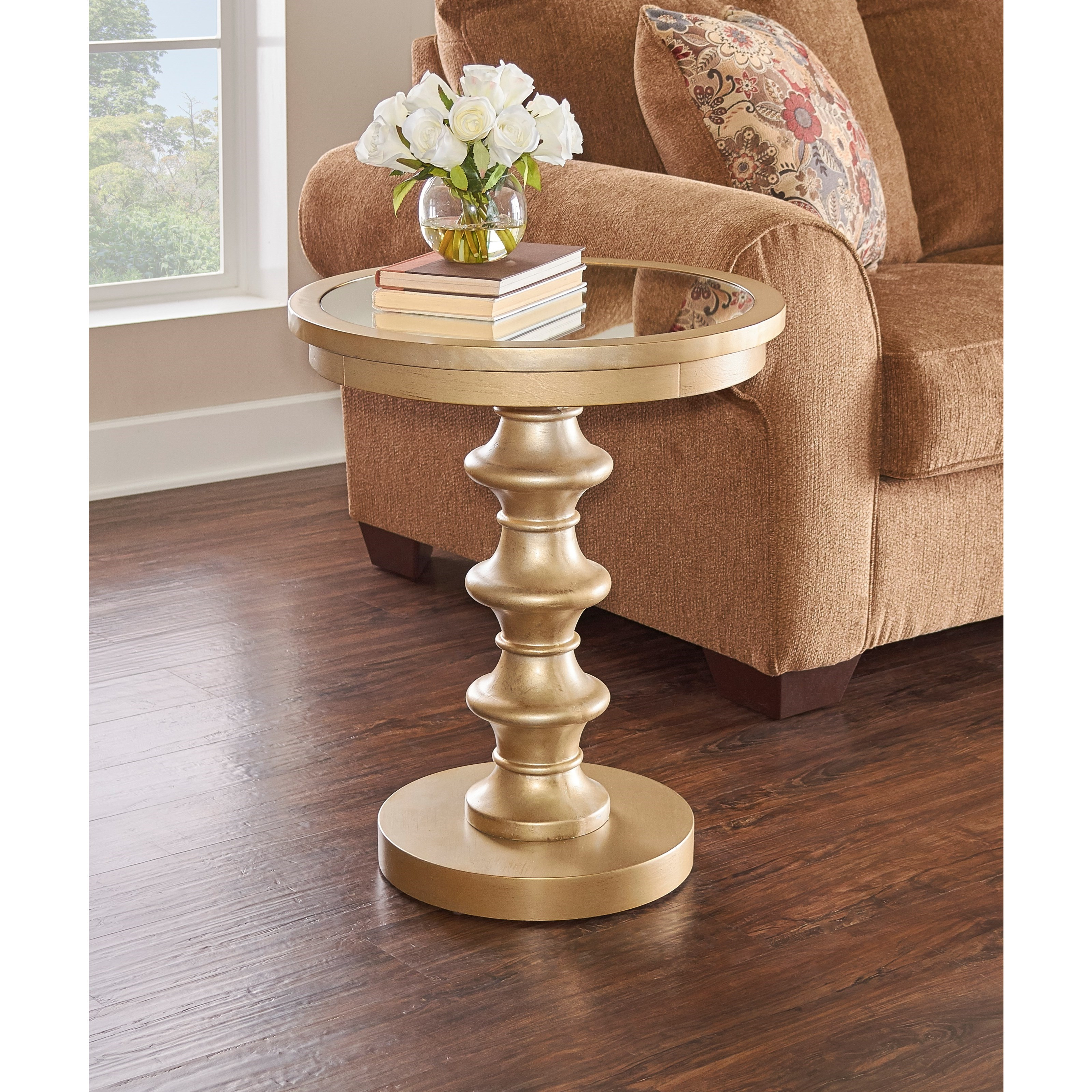 Axel Glamour Accent Table