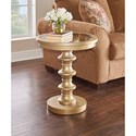 Powell Accent Furniture Axel Glamour Accent Table - Item Number: 15A8168GL