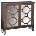 Powell Accent Furniture Hex 2 Door Console - Item Number: 16A2040