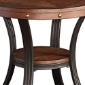 Powell Accent Furniture Franklin Side Table