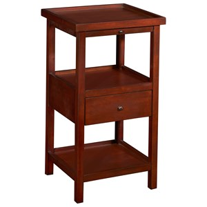 Palmer Table with Shelf