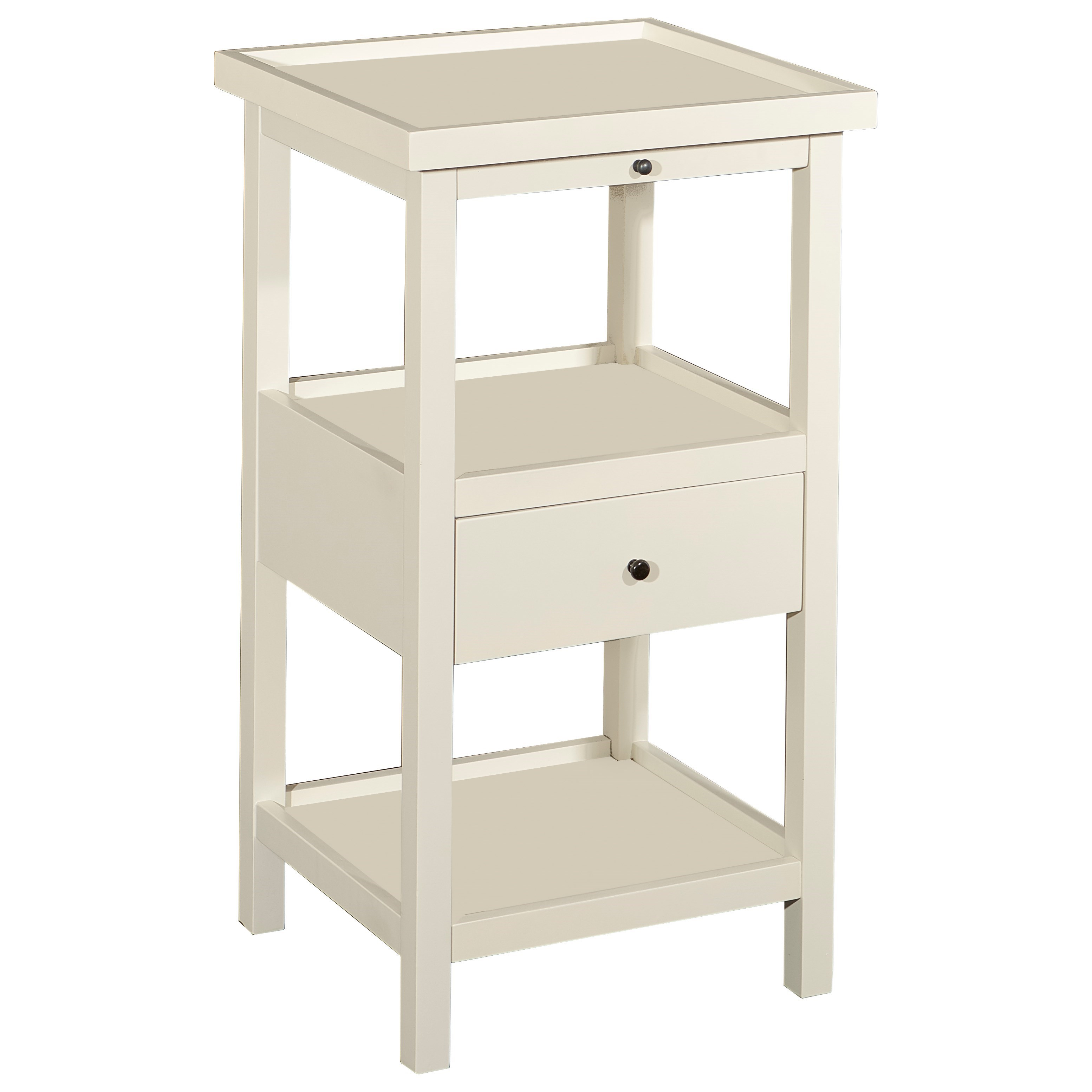 Accent Furniture Palmer Table with Shelf by Powell at Nassau Furniture and Mattress