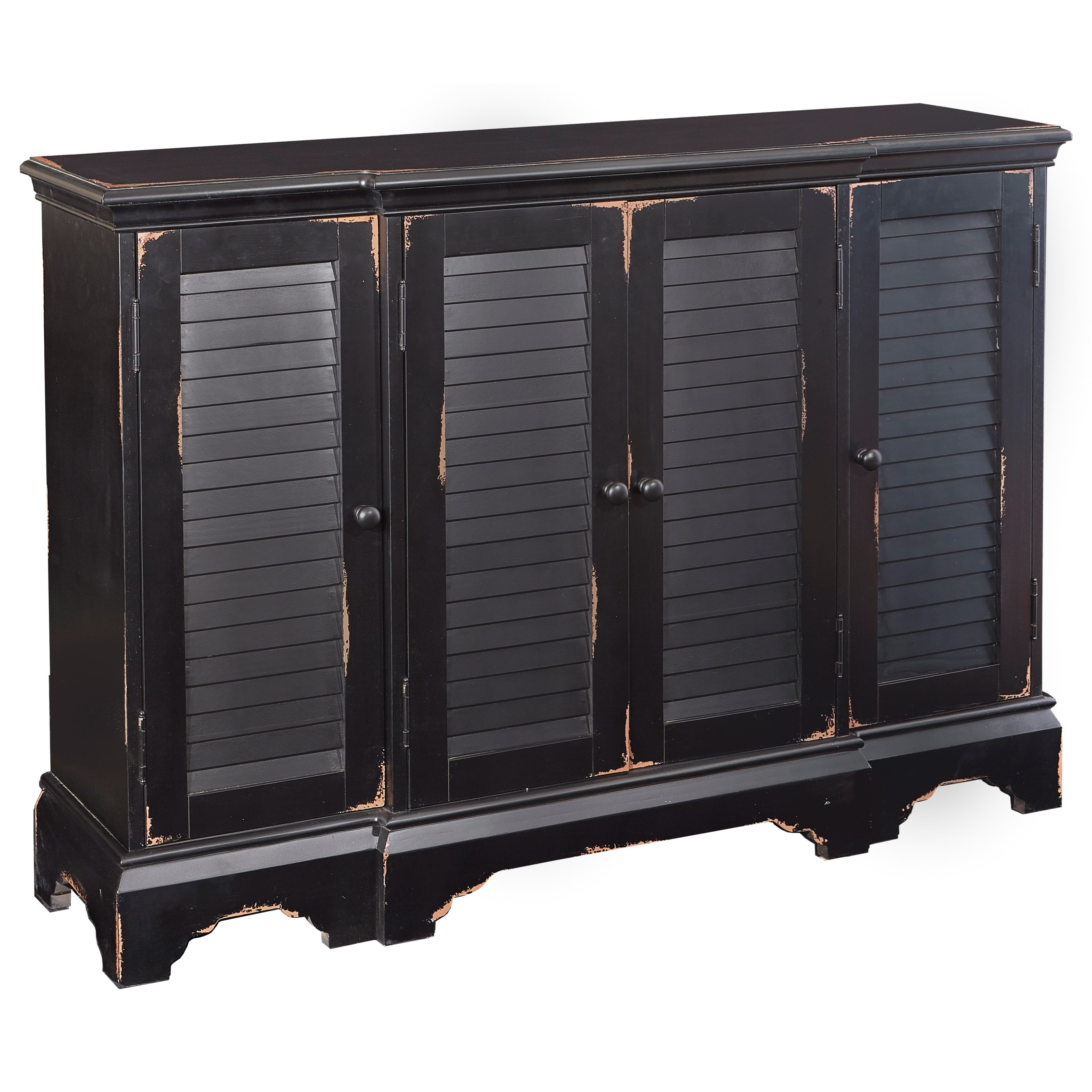 Powell Accent Furniture Savannah Shutter Console - Item Number: 16A8262B