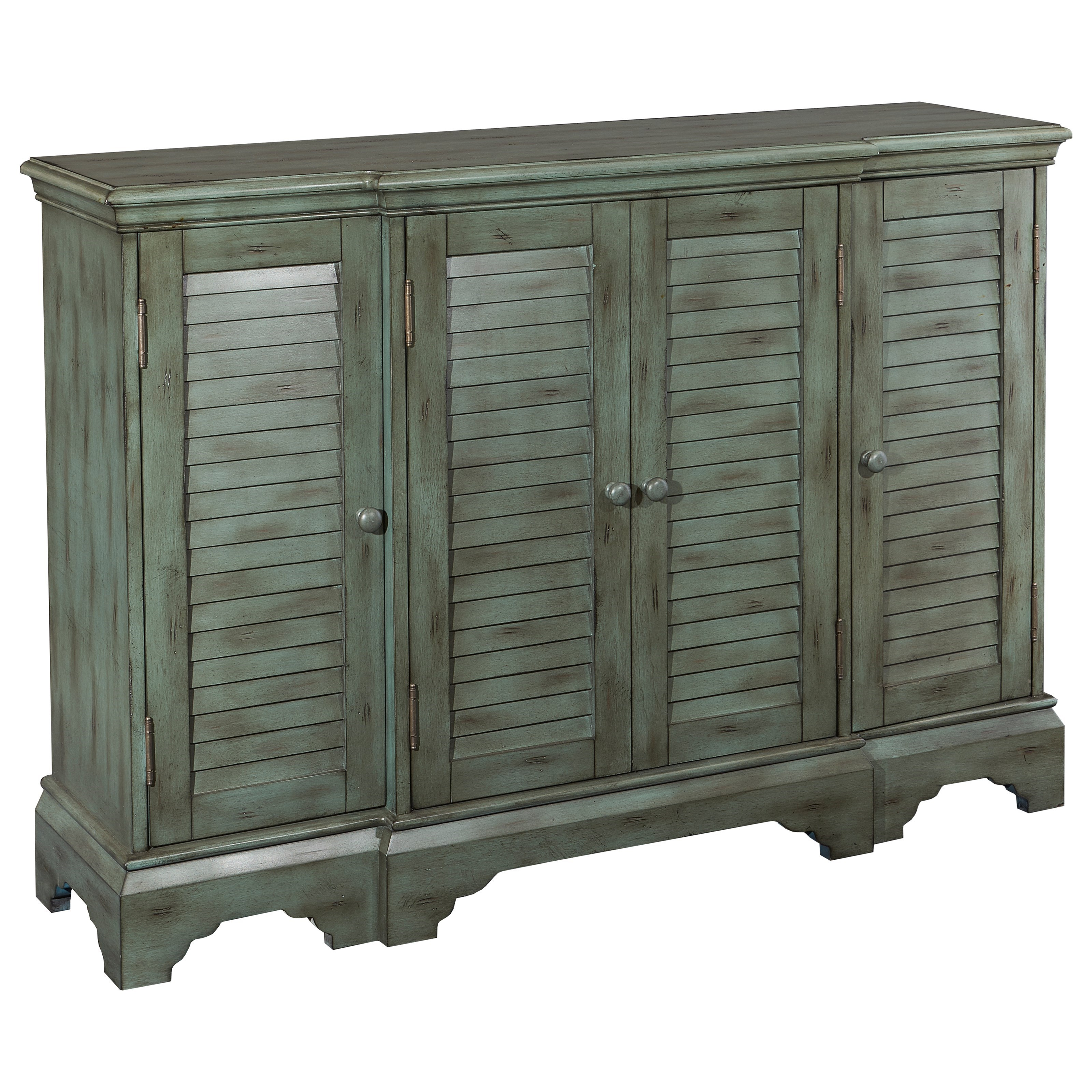 Powell Accent Furniture Savannah Shutter Console - Item Number: 16A8262T