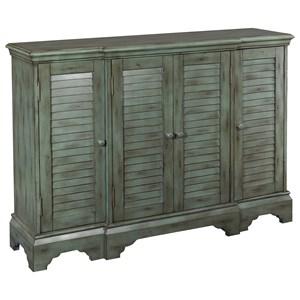 Powell Accent Furniture Savannah Shutter Console