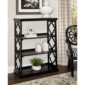 Conrad Medium Bookcase Black