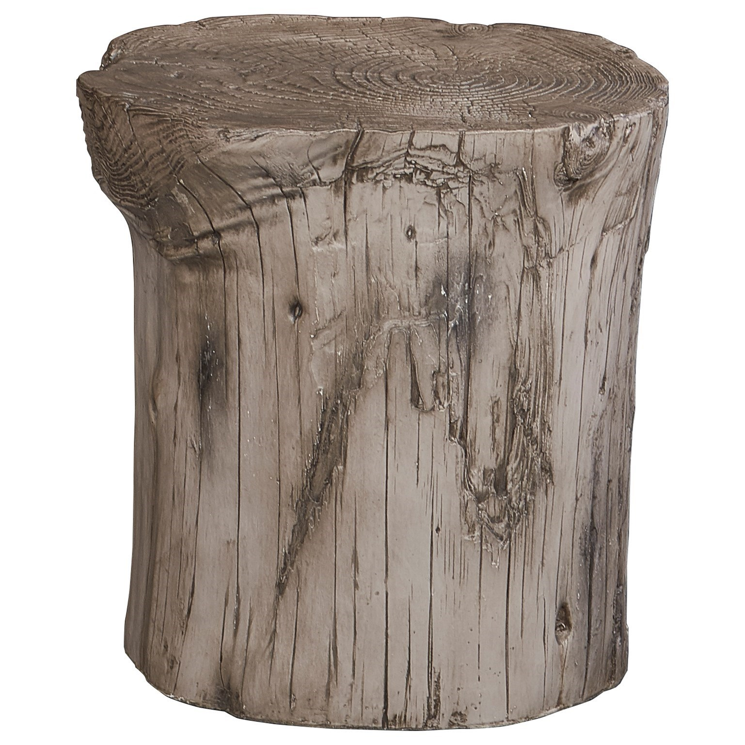 Hunter White Stool